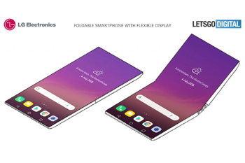 สิทธิบัตรมือถือพับได้ของ LG