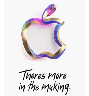 ภาพบัตรเชิญ Apple Event ปลายเดือนตุลาคม 61