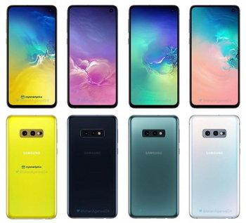 Galaxy S10e Canary Yellow