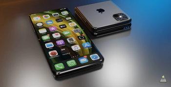 iPhone รุ่นจอพับ