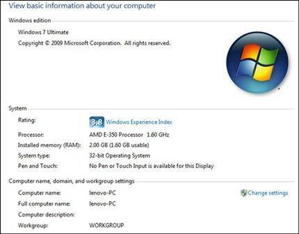 Review – Lenovo ThinkPad Edge E125