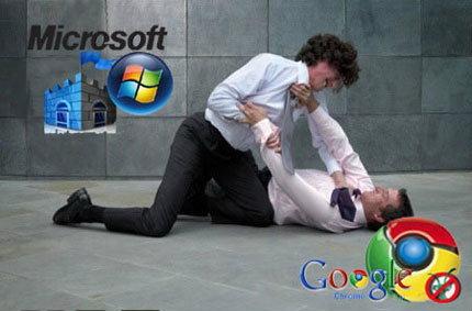 Microsoft Security ฟ้องว่า Google Chrome มันคือ มัลแวร์