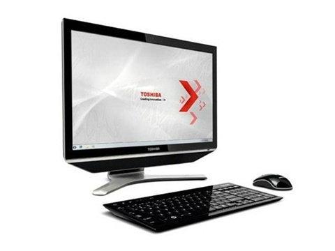 shiba Qosmio DX730 all-in-one ในแบบ Regza ทีวี