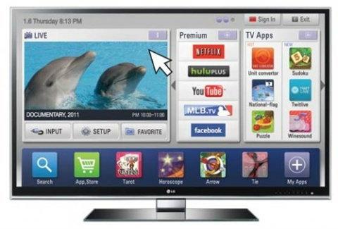 """LG เปิดตัวทีวี 3D ขนาด 55"""" ระบบ THX"""