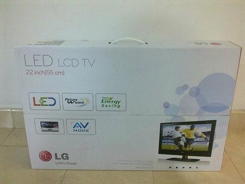 LG?LED TV 22″ HD Ready: 22LE5300 จับจองได้ไม่ยาก!!!
