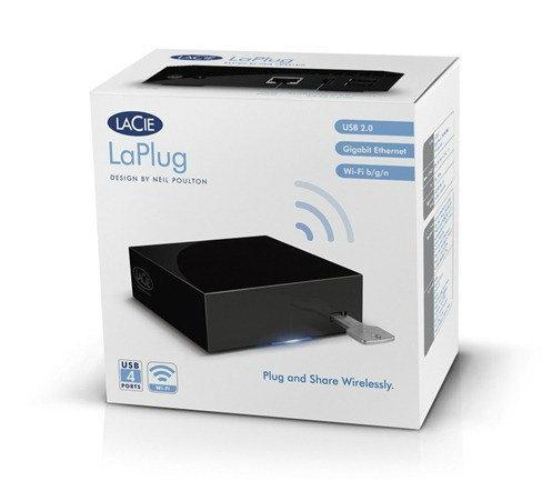 แชร์ข้อมูลแบบไร้สายด้วย LaPlug จาก LaCie