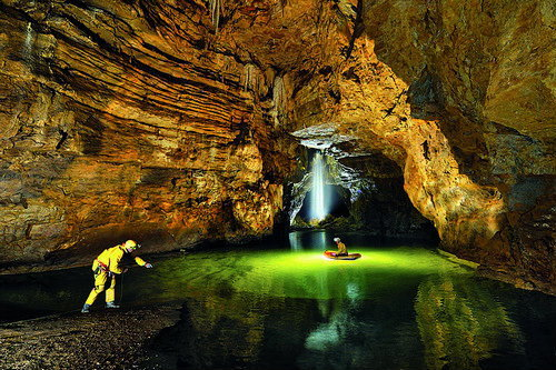 Exploring The Gouffre Berger(cave) in the Vercors region of France. At just over 1000m deep, The Gouffre Berger is recognised as one of the best sport trips in the world.