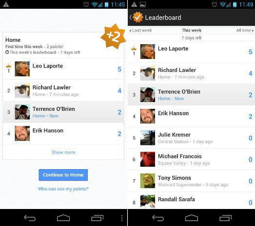 google latitude leaderboard
