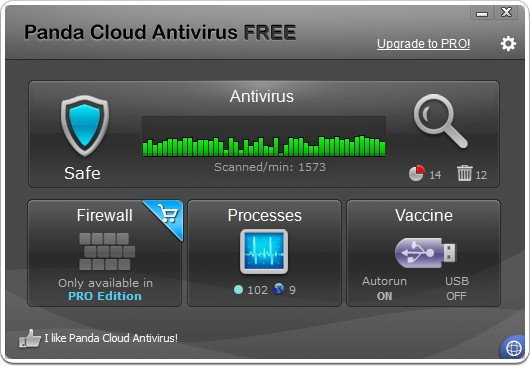Panda Cloud Antivirus Free