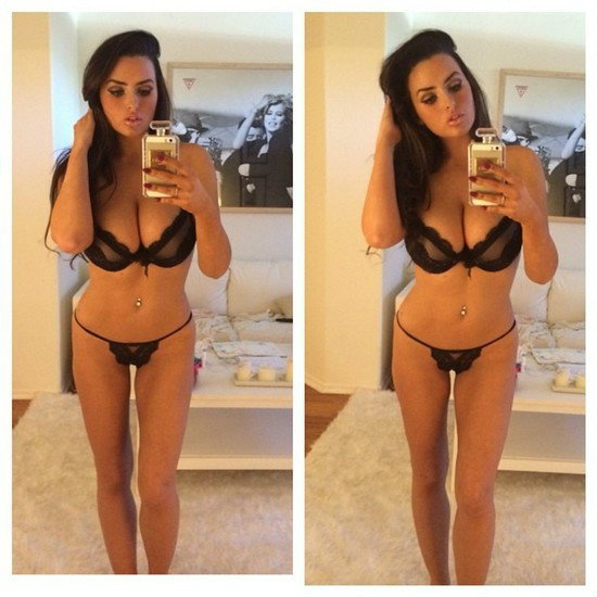 Abigail Ratchford 4 The 101 hottest celebrity Instagram pictures this week