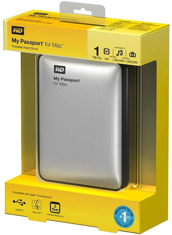 WD เปิดตัว ฮาร์ดดิสก์พกพารุ่นใหม่ เอาใจคนใช้ Mac