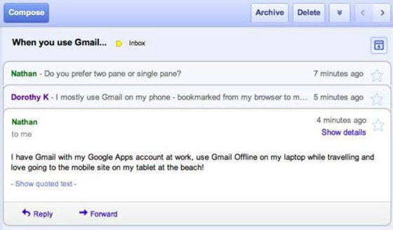 Google Chrome กับฟังชั่นใหม่ เปิดทุกลิงค์อีเมลด้วย Gmail