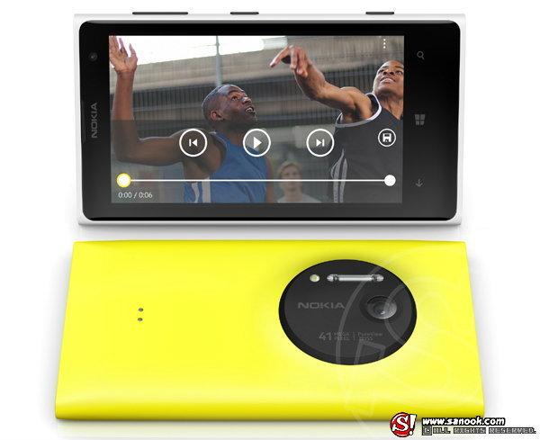 โนเกียเผยโฉม Nokia Lumia 1020