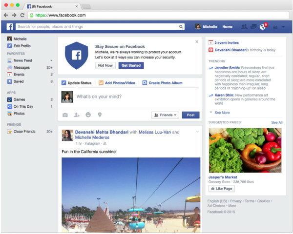 facebook-Quick-checkup