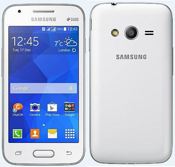 Samsung Galaxy V Plus White