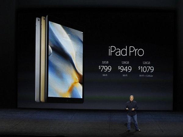 iPad Pro รุ่นใหม่ ขนาด 9.7 นิ้ว