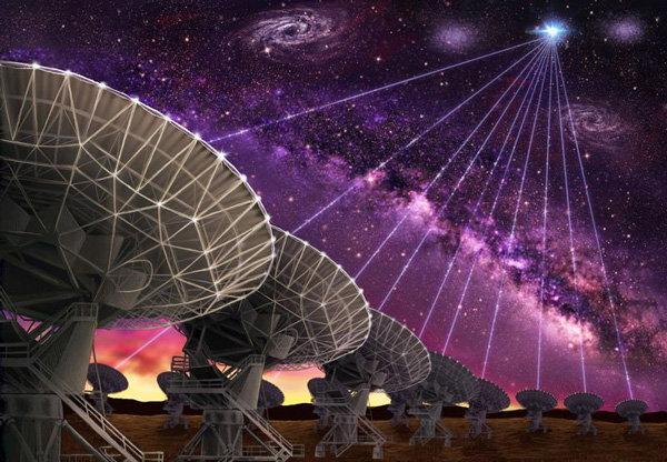 กล้องโทรทรรศน์วิทยุ Karl G. Jansky Very Large Array (VLA)