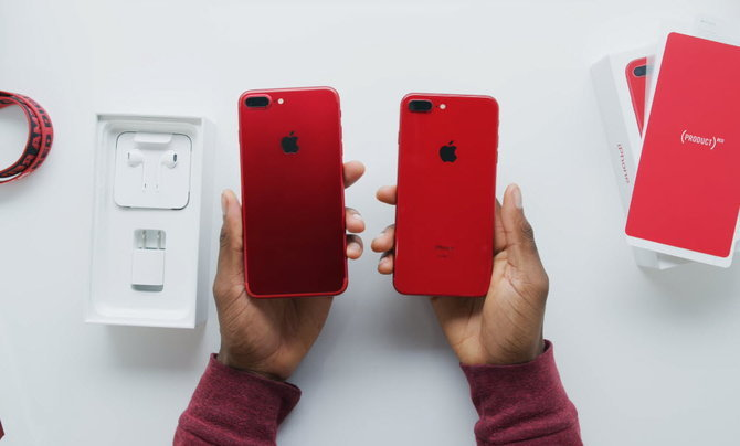 Iphone 8 Plus Red Youtuber 005