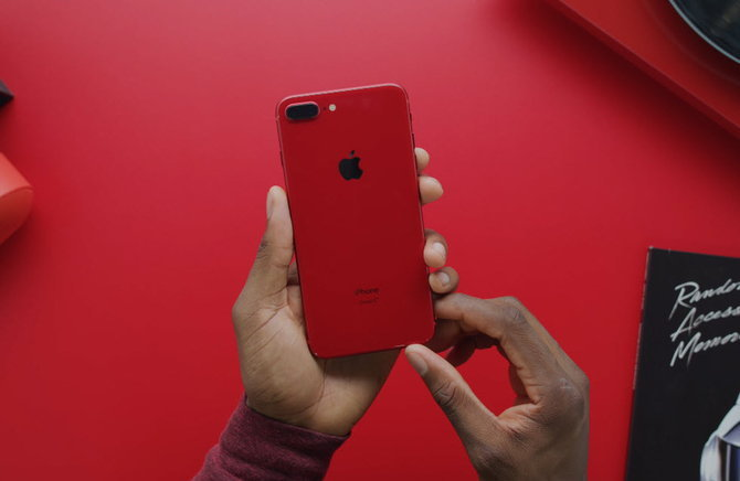 Iphone 8 Plus Red Youtuber 007