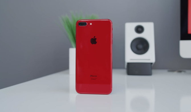 Iphone 8 Plus Red Youtuber 008