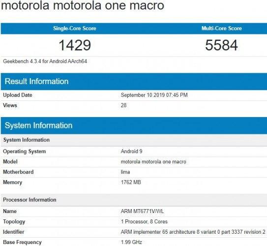 Motorola One Marco