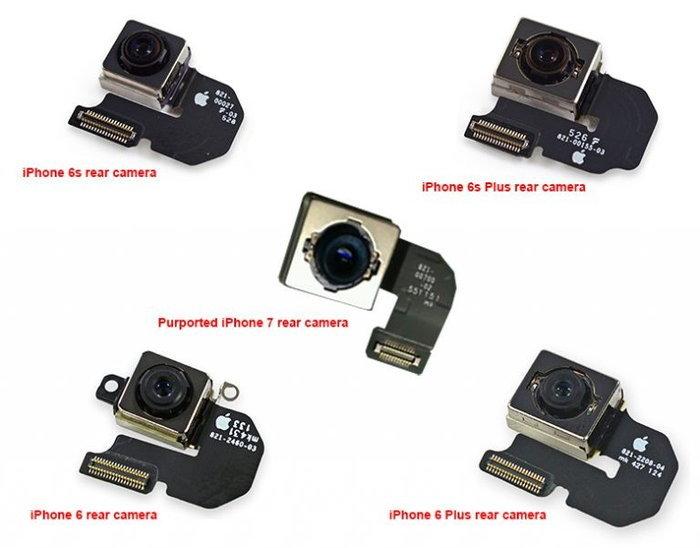เผยภาพชิ้นส่วนกล้อง iPhone 7