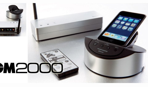 Marantz IS301 Hand Held Wireless Dock for iPod