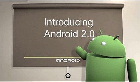 Android 2.0 เร่งสมาร์ทโฟนฉลาดขึ้น