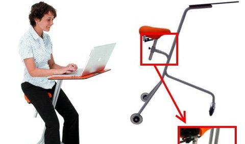 """Mobile Desk โต๊ะทำงาน""""เคลื่อนที่""""?"""