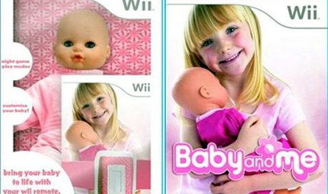 """เกมส์ Wii ฝึกเลี้ยง(ตุ๊กตา)""""เด็กอ่อน"""""""