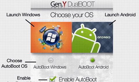 จับแอนดรอยด์ยัดใส่ Windows Mobile แบบง่ายๆด้วย Gen.Y DualBOOT