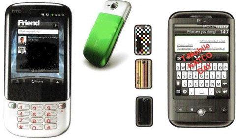 HTC งานเข้าแล้ว ข้อมูลเครื่องปี 2010 หลุดทีเดียว 8 รุ่น
