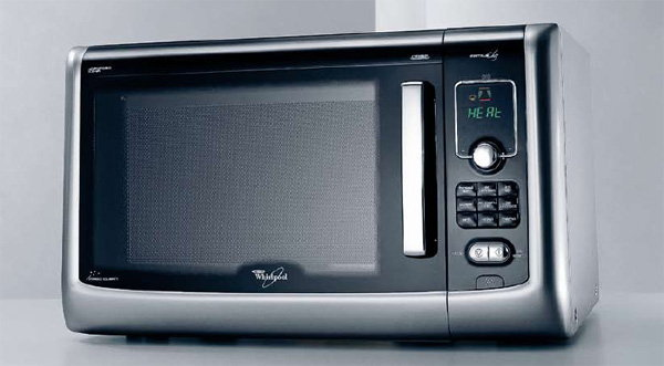 WHIRLPOOL FAMILY CHEF MICROWAVE Nuke your greens