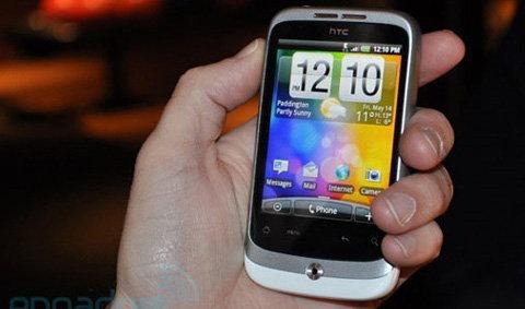HTC Wildfire เครื่องแอนดรอยด์ราคาประหยัดจะออกอีกไม่นานนี้แล้วนะ