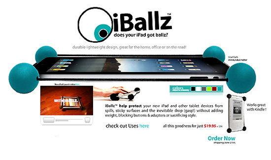 iPad ตกพื้นกี่ครั้งก็ไม่แตกถ้าคุณมี iBallz