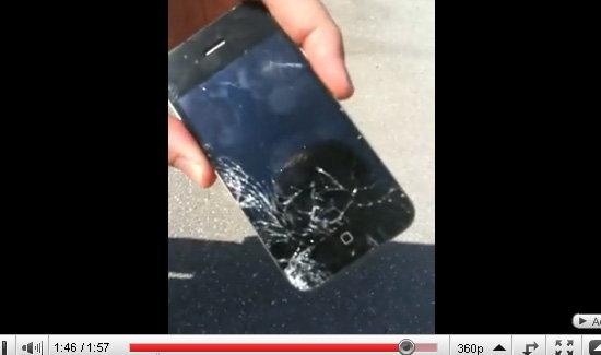 ท้าพิสูจน์ iPhone 4 กับพื้นคอนกรีต!!!