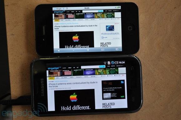 จอ iPhone 4 กับ Samsung Galaxy S ใครเจ๋งกว่ากันมาพิสูจน์กัน