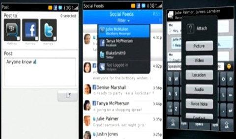 BB OS 6 อัพเดตโซเชียลเว็บในคลิกเดียว