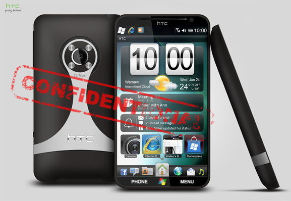 HTC Gold เตรียมลุยมาในแบบ Windows Phone 7