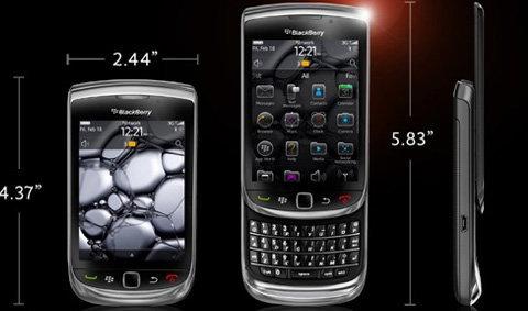 BlackBerry Torch 9800 เปิดตัวแล้วใหม่เนี๊ยบกว่าที่คิด