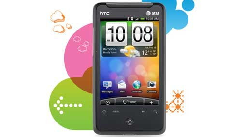 HTC Aria Android Phone สำหรับคนระดับกลาง