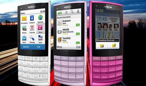Nokia X3-02 Series 40 Touchscreen ตัวแรก