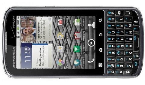 Verizon เผยโฉม Motorola Droid Pro เครื่องแนวตั้งพร้อมคีย์บอร์ดเต็มแผง!