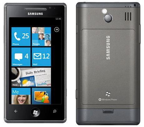 Samsung Omnia 7 สมาร์ทโฟน WP7