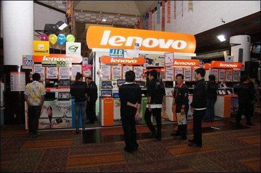 พาตะลุยงานคอมมาร์ทตอนแรกไปกับ Lenovo