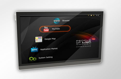 เครื่องแรกของโลกกับ Android TV จากประเทศสวีเดน