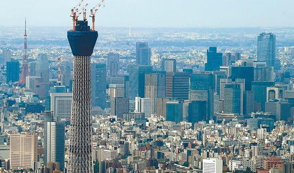 หอส่งสัญญาณทีวี ญี่ปุ่นคว้าแชมป์หอส่งสัญญาณทีวีที่สูงที่สุดในโลก