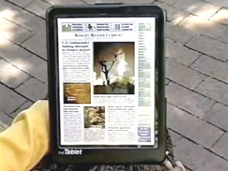 ไอเดีย iPad มีมาตั้งแต่ปี 1994 แต่...