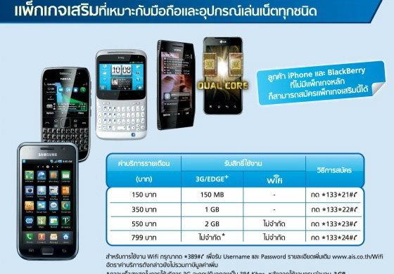 มาแล้ว 3G ตัวจริงจาก AIS สัมผัสประสบการณ์ที่เหนือกว่า…