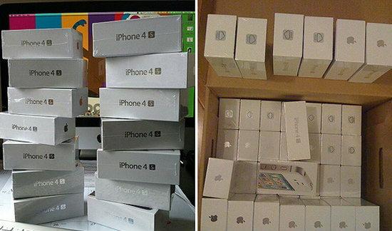 iPhone 4S เครื่องหิ้ว มาบุญครอง ราคาเริ่มที่ 36,000 บาทถ้วน
